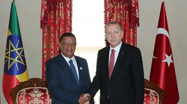 أردوغان يلتقي نظيره الإثيوبي في إسطنبول