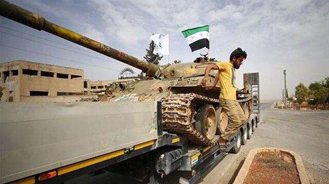 Türkiye ve Rusya'nın anlaşmasının ardından İdlib'te ağır silahların geri çekilme süreci başlatılmıştı.