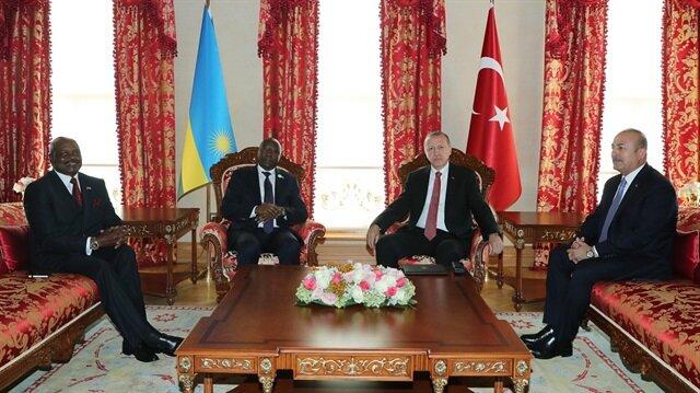 أردوغان يلتقي رئيس الوزراء الرواندي في إسطنبول