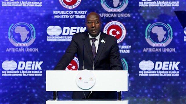رواندا تدعو تركيا إلى الإسهام في الاقتصاد الصناعي لإفريقيا