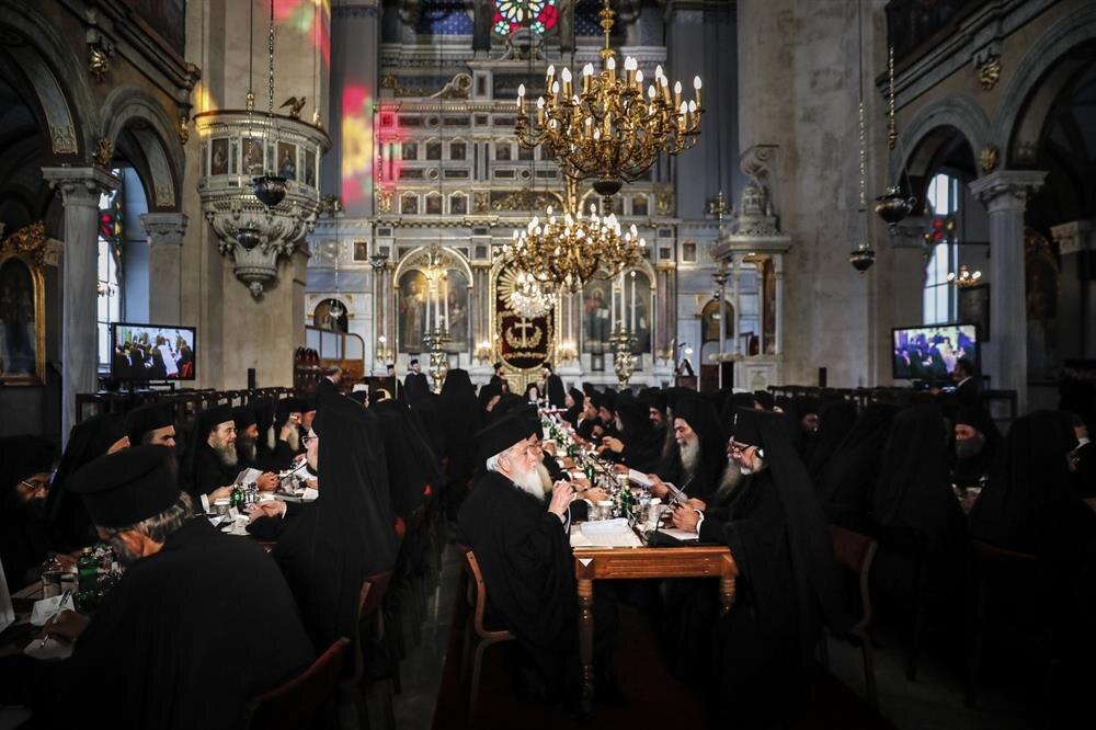 Ortodoks dünyasını bir araya getiren ve 3 yılda bir düzenlenen Synaxis toplantısı Beyoğlu'nda bulunan Aya Triada Rum Ortodoks Kilisesi'nde düzenlendi.