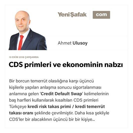 CDS primleri ve ekonominin nabzı
