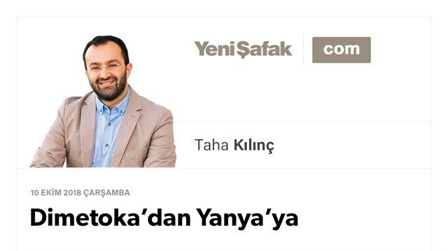 Dimetoka'dan Yanya'ya