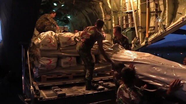 Türkiye'den Endonezya'ya yardım eli