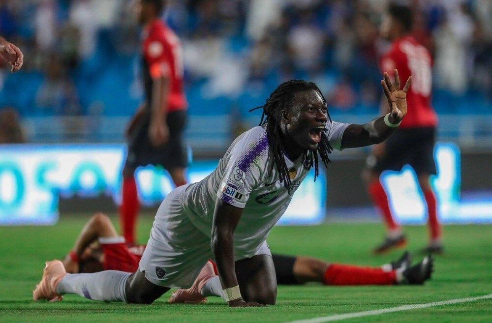 Fransız golcü, Al Hilal'de de aynı gol sevincini sürdürüyor.