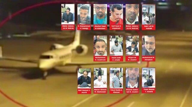 Uçakla gelen istihbaratçıların görüntüleri ortaya çıktı