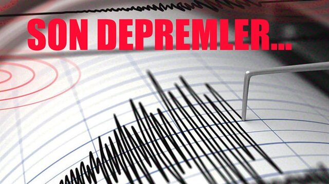 Akdeniz'de 3.4 büyüklüğünde deprem meydana geldi.