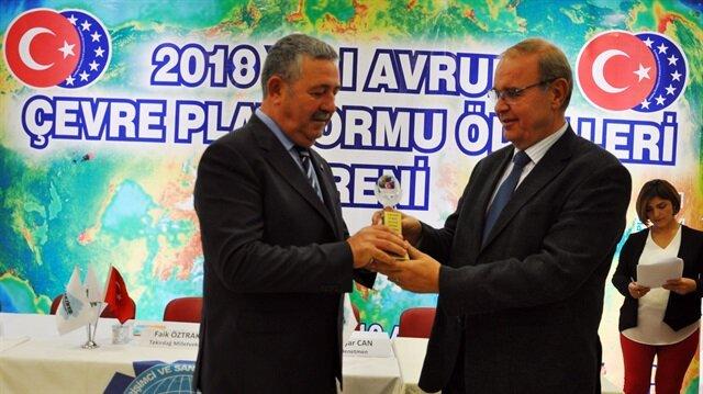 2018 Avrupa Çevre Ödülü Anadolu OSB'nin