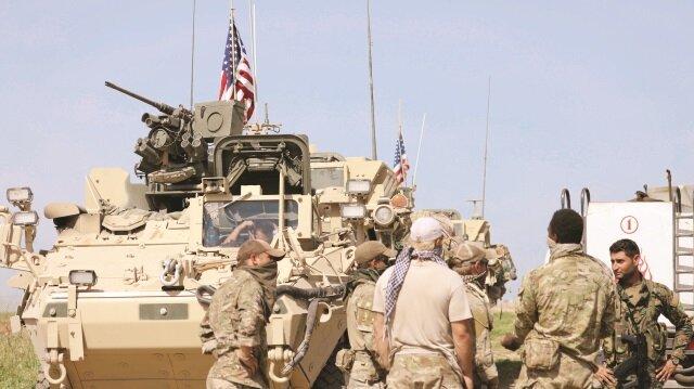 YPG/PKK, ABD'den çukur kazmaya devam edebileceği yeni iş makineleri sağladı.