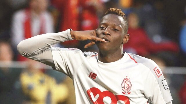 Moussa Djenepo, Standard Liege formasıyla çıktığı 14 maçta 8 gole direkt katkı yaptı. (6 gol 2 asist)