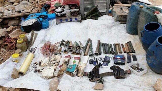 Şırnak'taki terör operasyonunda mühimmat bulundu