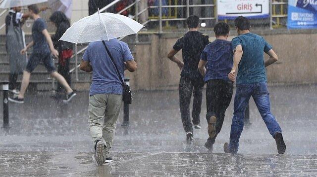 İstanbul için kuvvetli yağış uyarısı yapıldı.