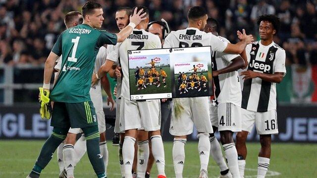 Juventus'ta oynuyorum diyerek herkesi kandırdı