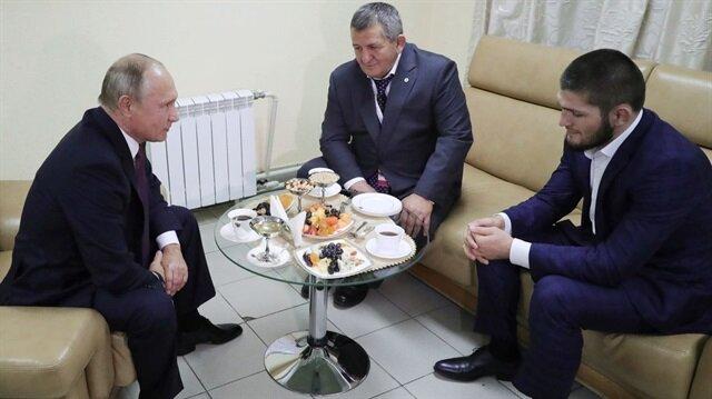 Vladimir Putin'den Khabib'e dikkat çeken mesaj