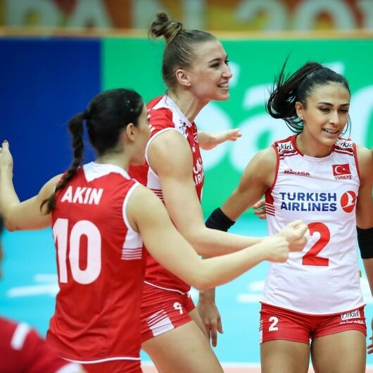 Turkey beat Thailand in women's volleyball