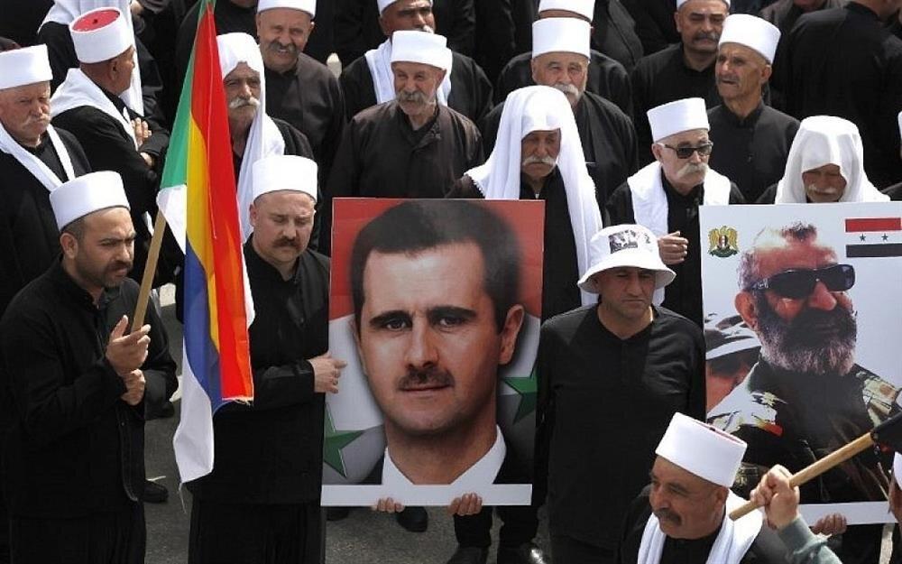 2011'de başlayan Suriye olaylarından sonra Dürzîler rejim yanlısı bir tutum sergilemişlerdir.