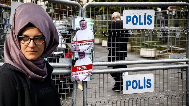 Suudi gazeteci Cemal Kaşıkçı'nın nişanlısı Hatice Cengiz