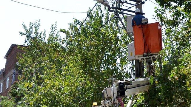 Dicle Elektrik kaçak elektrik taraması.