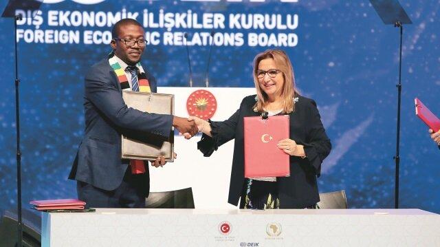 Türkiye-Afrika 2. Ekonomi ve İş Forumu kapsamında yeni yol haritası belirlendi.
