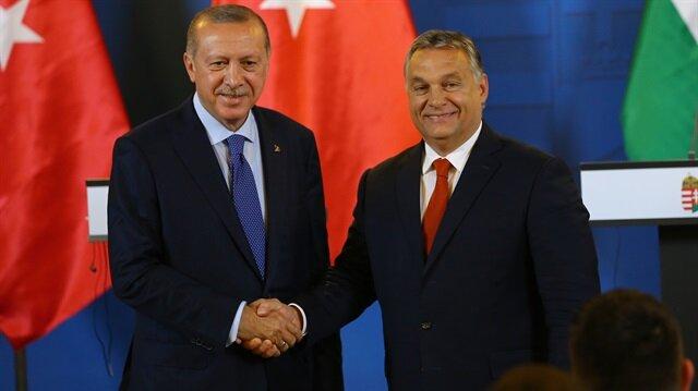 Cumhurbaşkanı Recep Tayyip Erdoğan ve Macaristan Başbakanı Viktor Orban