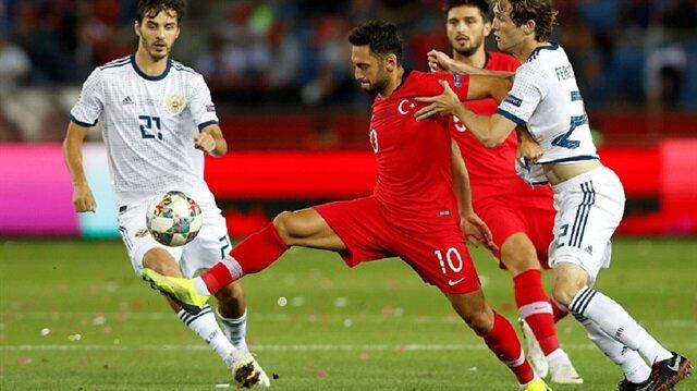 Türkiye Rusya maçı 14 Ekim Pazar günü saat 19:00'da TRT 1'den canlı yayınlanacak.