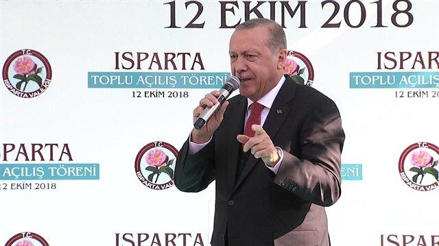 Erdoğan: Güvenlik güçlerimiz terör örgütlerine kan kusturuyor