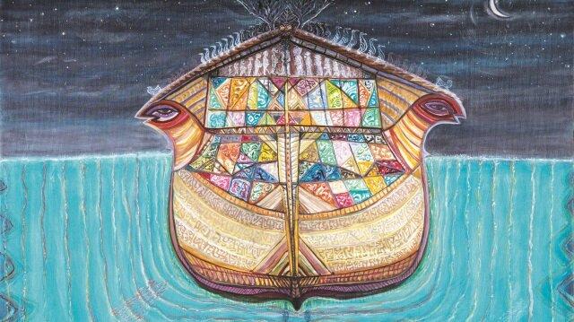 Sergi, iki ressamın 1998 yılından bugüne kadar ürettikleri tablolardan bir bölümü sunuyor.