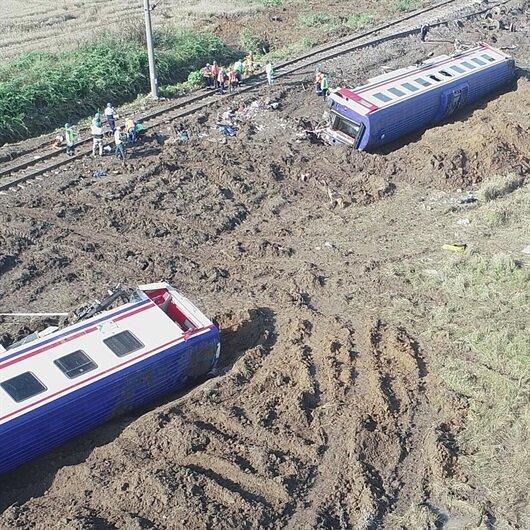 Tren kazasında 'asli kusurlu' olduğu iddiasıyla gözaltına alınanlar serbest