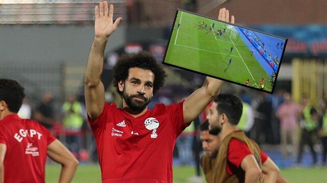 Mısır'ın yıldızı Muhammed Salah, Svaziland ile oynadıkları Afrika Uluslar Kupası 2019 Elemeleri J Grubu maçında kornerden gol attı.