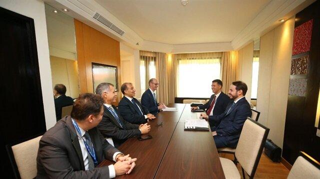 Hazine ve Maliye Bakanı Berat Albayrak - G-20 toplantısı