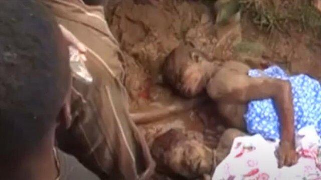 Uganda'da meydana gelen heyelanda hayatını kaybedenler...