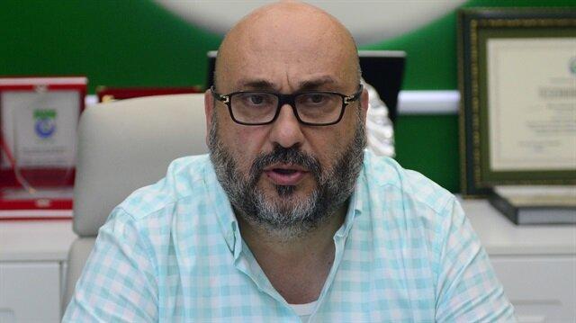 Giresunspor Başkanı Mustafa Bozbağ.