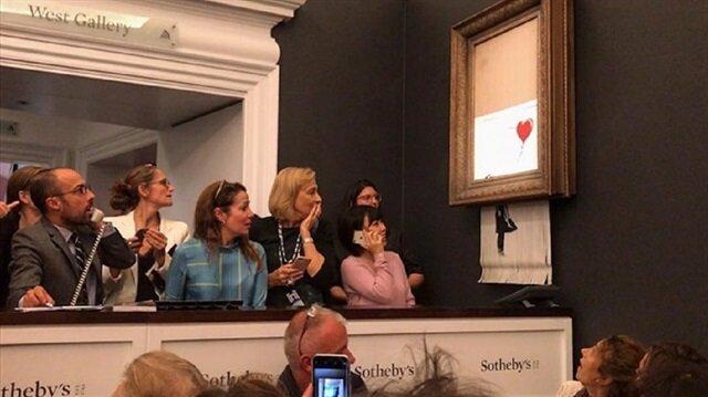 Kendini parçalayan tablonun değeri ikiye katlandı!