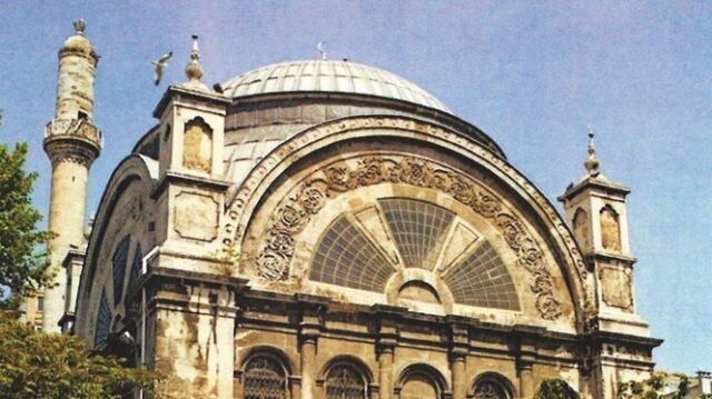Cihangir Camii Vakıflar Genel Müdürlüğü'nce tamir edildi.