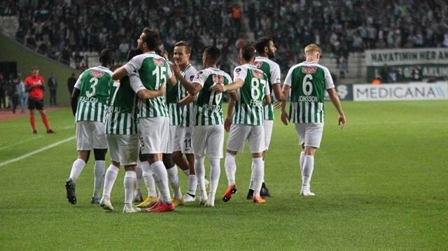 Konyaspor'un ilk 8 haftaya deplasman performansıyla damga vurdu.