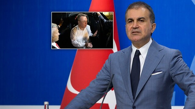 AK Parti Sözcüsü Ömer Çelik, ABD'li Brunson konusunda açıklamalarda bulundu.