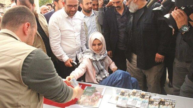 İHH tarafından 81 ilin merkez camilerinde düzenlenen 'Gazze'ye Yardım Cuması'nda İsrail protesto edildi.