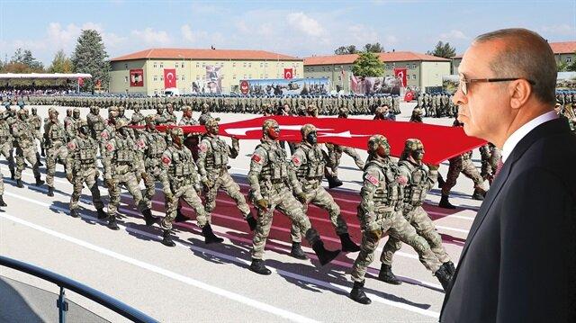 Cumhurbaşkanı Erdoğan, bölücü terör örgütünün tarihindeki en büyük hezimeti yaşadığını söyledi.