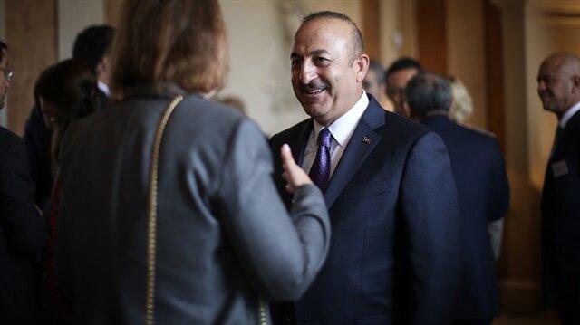 Dışişleri Bakanı Çavuşoğlu Londra'da.
