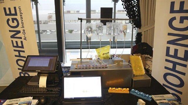 Cihaz 5 büyük ildeki hastanelerde aktif olarak kullanılıyor.
