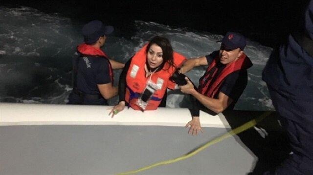 Karaburun'da göçmenleri taşıyan tekne batmıştı.
