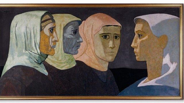 Nuri İyem'in Kayınvalide ve Eltiler tablosuna 500 bin TL verildi