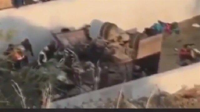 İzmir'de göçmenleri taşıyan kamyon devrildi: 15 ölü