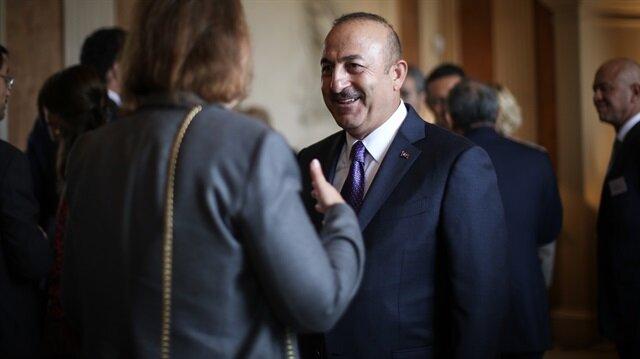 Dışişleri Bakanı Çavuşoğlu Londra'da açıklamalarda bulundu.