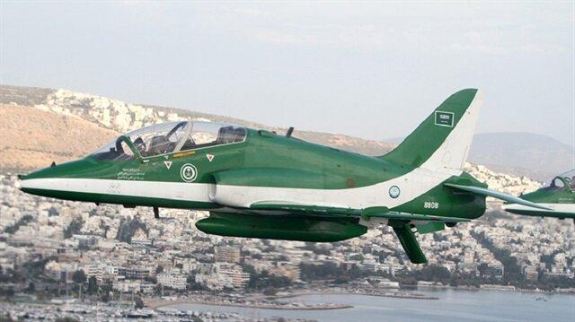 Suudi Arabistan'da askeri eğitim uçağı düştü: 2 ölü
