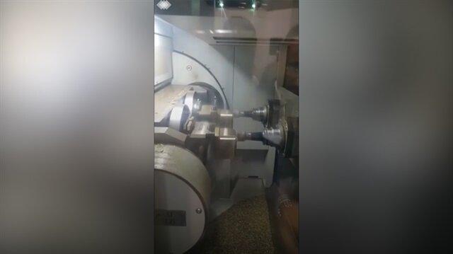 Türk mühendisler CNC makinesine İstiklal Marşı'nı öğretti