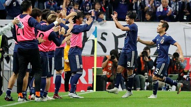 Japonya-Uruguay maçında gol yağmuru