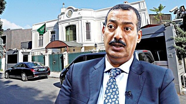 Resmi konutunda arama yapılması beklenen Suudi Başkonsolos ülkesine kaçtı.