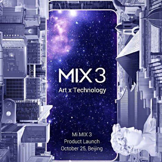 Xiaomi Mi Mix 3'ün özellikleri belli oldu