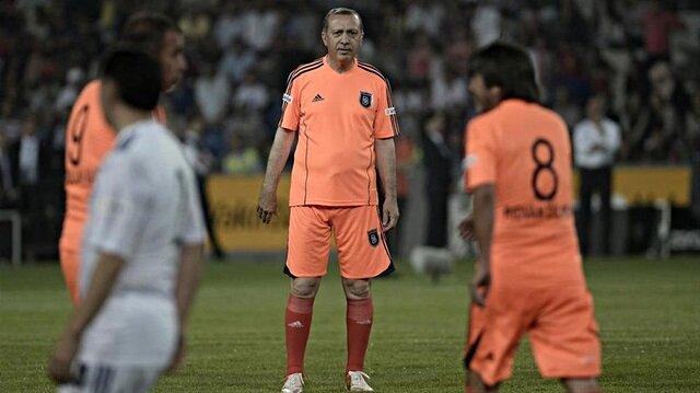 Erdoğan'ın forma giyeceği maçta kadrolar belli oldu